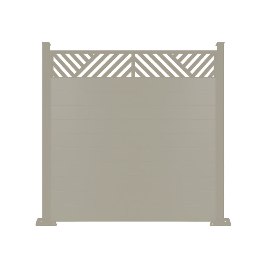 Vector Fence - Dove Grey - 6ft Tall