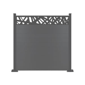 Kerplunk Fence - Anthracite Grey - 7ft Tall