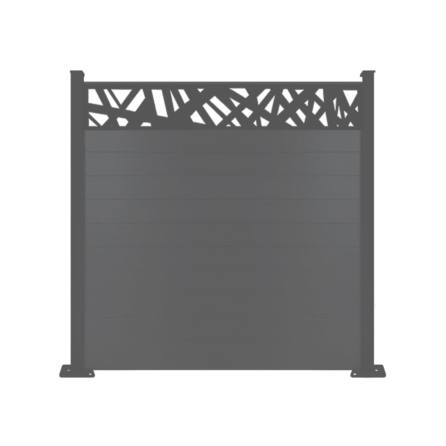 Kerplunk Fence - Anthracite Grey - 3ft Tall