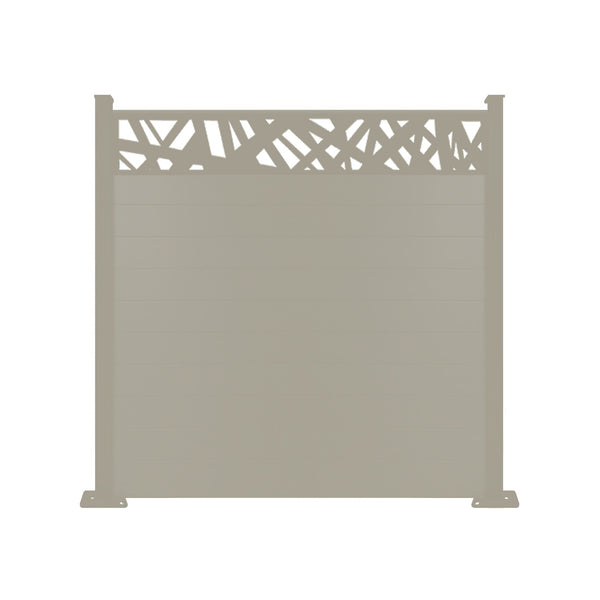 Kerplunk Fence - Cream - 4ft Tall