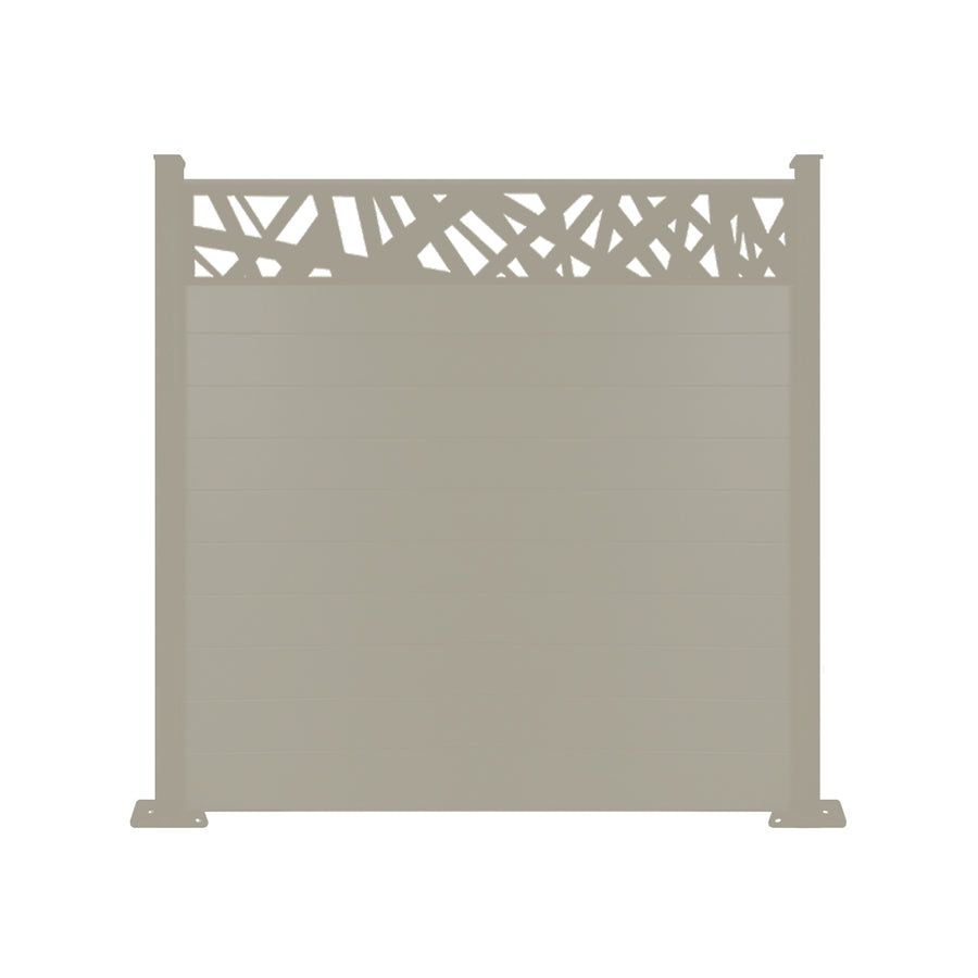 Kerplunk Fence - Dove Grey - 4ft Tall
