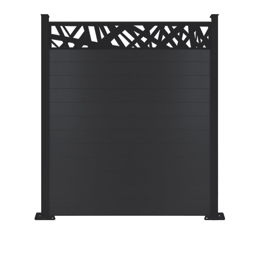 Kerplunk Fence - Black - 7ft Tall