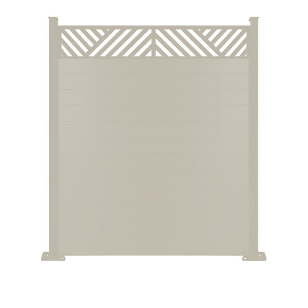 Vector Fence - Cream - 7ft Tall