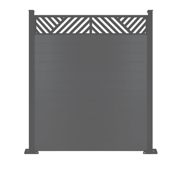 Vector Fence - Anthracite Grey - 7ft Tall