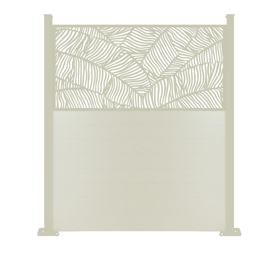 Verdure Screen Fence - Cream - 6ft