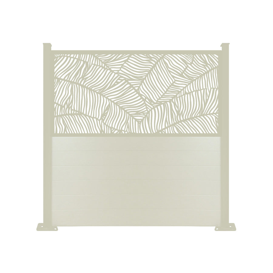 Verdure Screen Fence - Cream - 7ft
