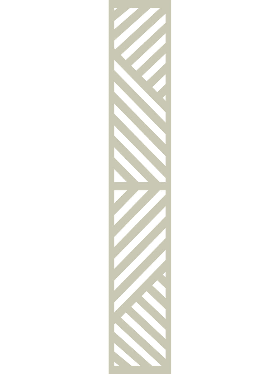 Vector Garden Trellis - Dove Grey - 6ft x 1ft