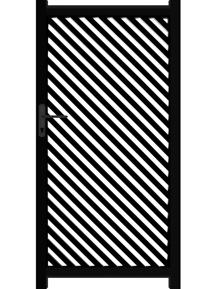 Vector Screen Gate - Black