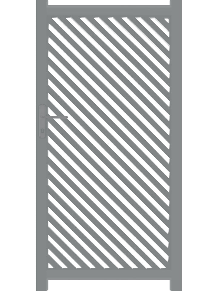 Vector Screen Gate - Dove Grey