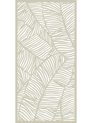 Verdure Large Garden Screen - Dove Grey - 6ft x 3ft