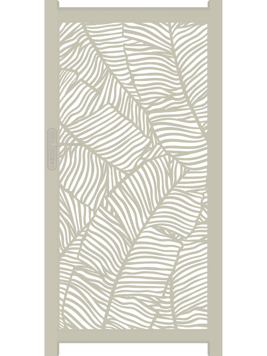 Verdure Screen Gate - Cream - 3ft height