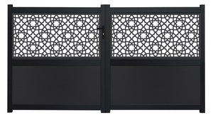 Alhambra Screen Driveway Gate - Anthracite