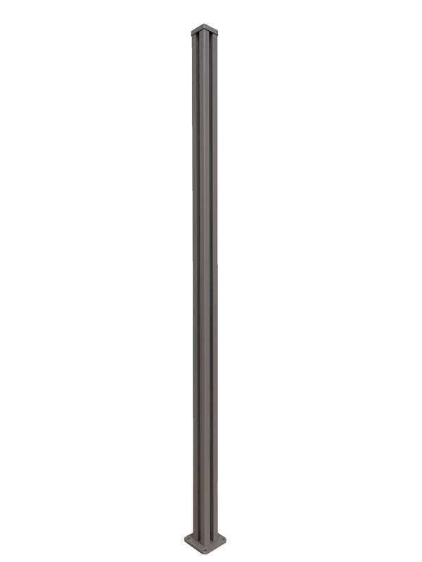 Full height corner post - Dove Grey