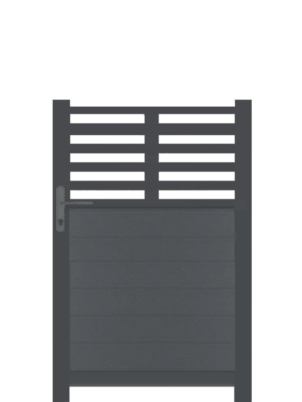 Slat Top Pedestrian Gate
