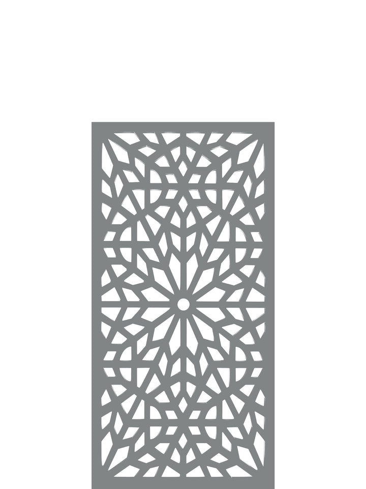 Kaleidoscope - Dove Grey - Medium Garden Trellis