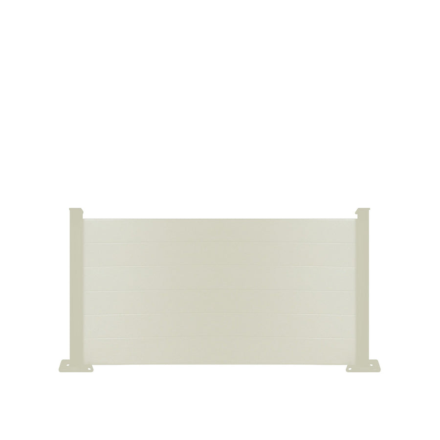 Composite Fence Panel - Cream - 3ft Tall