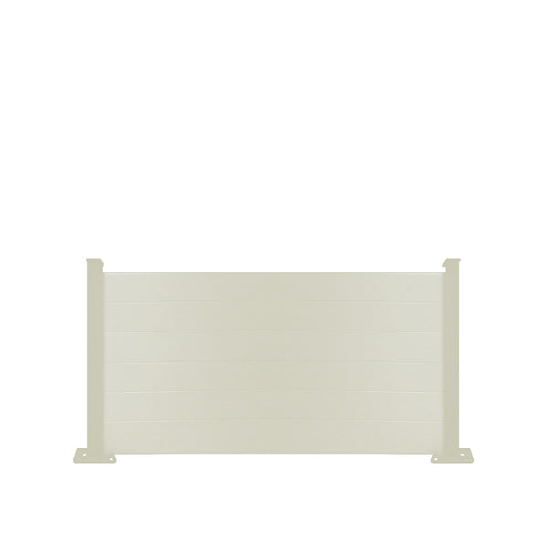 Composite Fence Panel - Cream - 6ft Tall