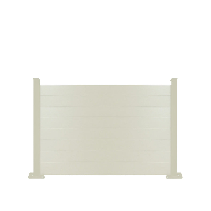 Composite Fence Panel - Cream - 4ft Tall