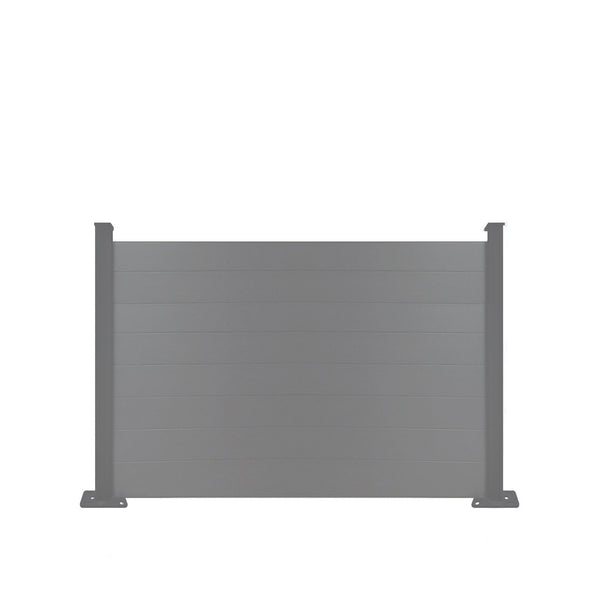 Composite Fence Panel - Dove Grey - 6ft Tall