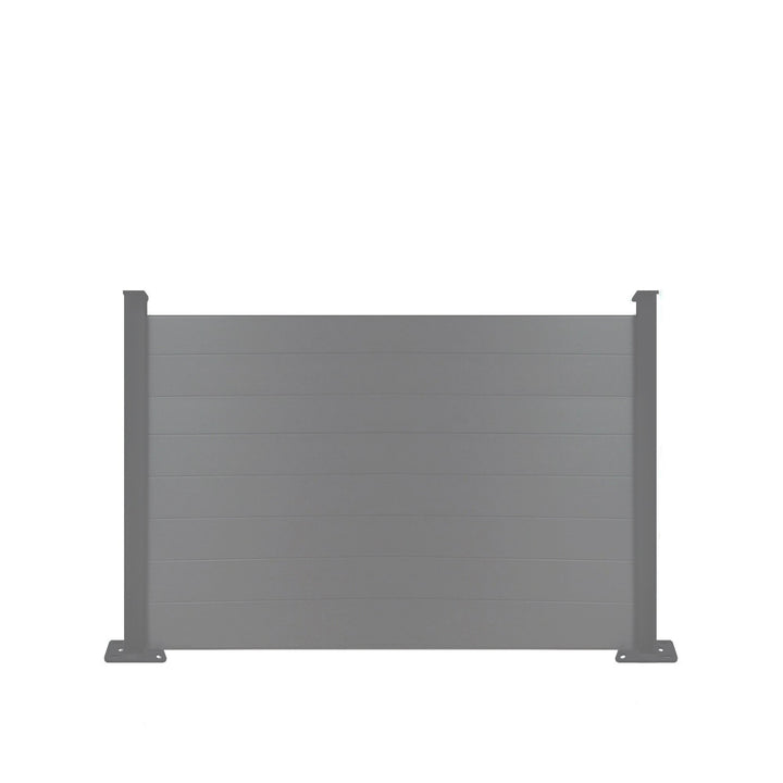 Composite Fence Panel - Dove Grey - 4ft Tall