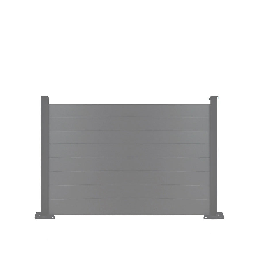 Composite Fence Panel - Dove Grey - 7ft Tall
