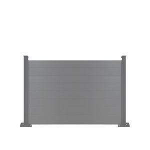 Composite Fence Panel - Black - 3ft Tall