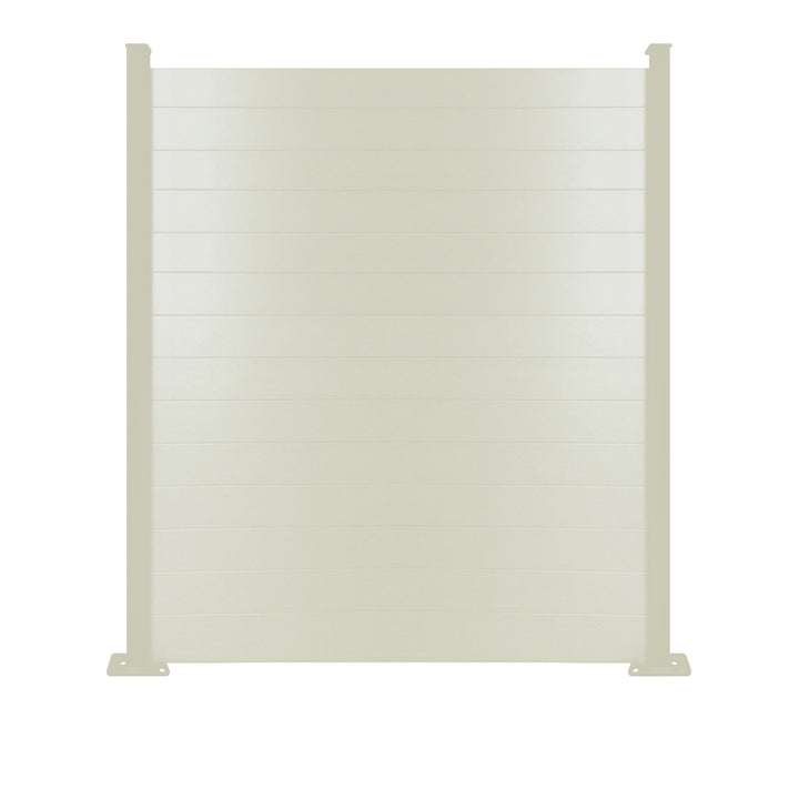 Composite Fence Panel - Cream - 7ft Tall
