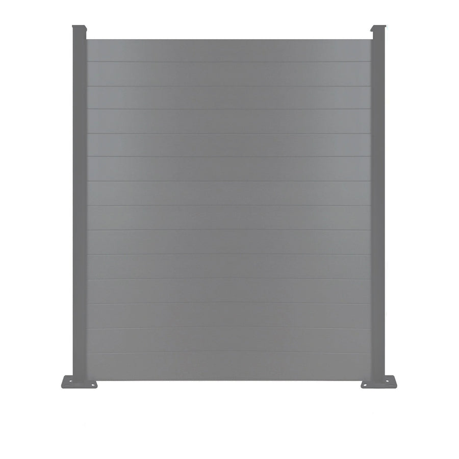 Composite Fence Panel - 6ft x 6ft - Anthracite Grey