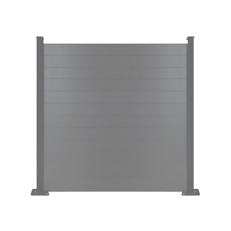 Composite Fence Panel  - Anthracite Grey - 7ft