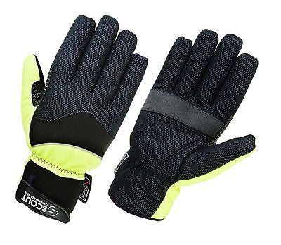 Winter Gloves For Men Full Finger Windproof Glove Black Green SPG - Scout Performance Gear