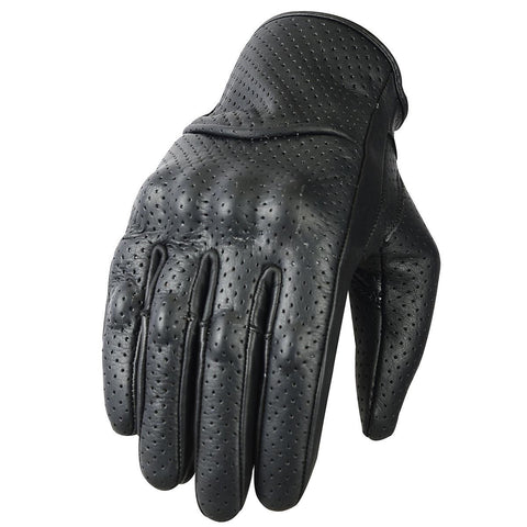 SPG Motocross Gloves for Men Off-Road Racing Leather Armor MX Glove - Scout Performance Gear
