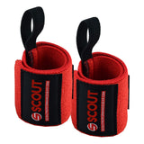 WeightLifting Wrist Wraps + Straps Bundle for Men Women - Scout Performance Gear