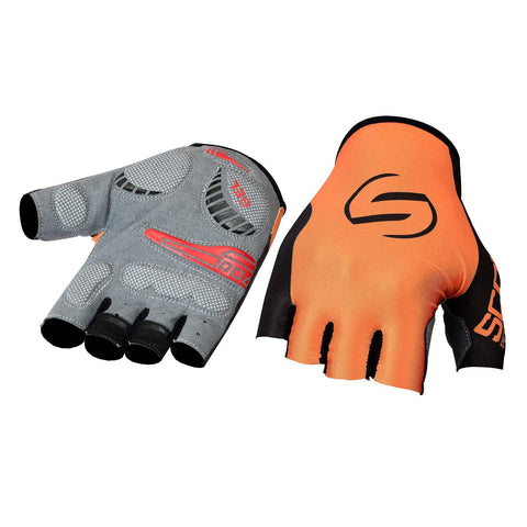 SPG Cycling Gloves Bicycle Sports Glove in Orange Black Color - Bulk Only - Scout Performance Gear