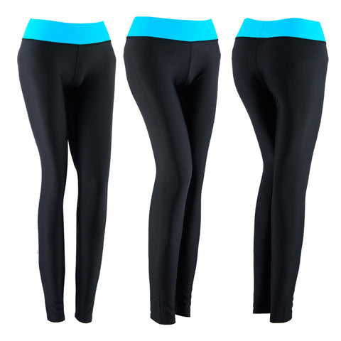 SPG Women YOGA Pants Gym Leggings Stretch Athletic Trousers Green - Scout Performance Gear