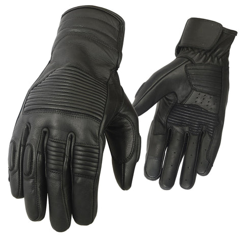 New Motorbike Gloves Leather MX Motorcycle Riding Knuckles Padding - Bulk Only