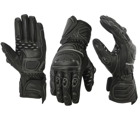 New Motorcycle Racing Gloves Motorbike Riders Glove Knuckles Shell Protection - Bulk Only - Scout Performance Gear