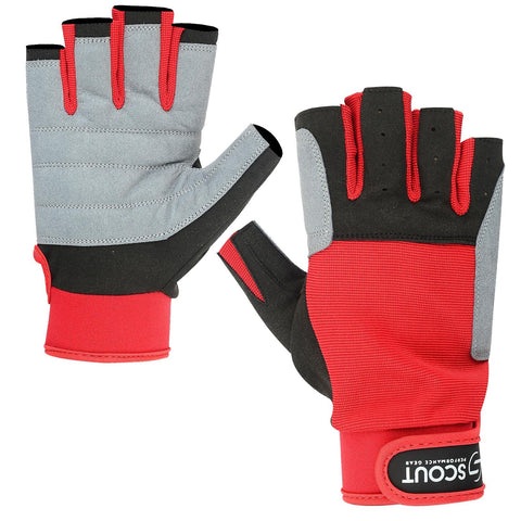 New Sailing Gloves Kayak Yachting WaterSki Sports Boating Glove Red Color