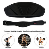 ScoutPerformanceGear Weight Lifting Gym Training Belt - Back Support Lifting Bodybuilding Belt for Men Women - Scout Performance Gear