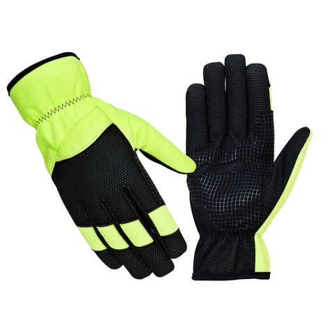 SPG Cycling Gloves Full Finger in Green Black Color - Bulk Only - Scout Performance Gear