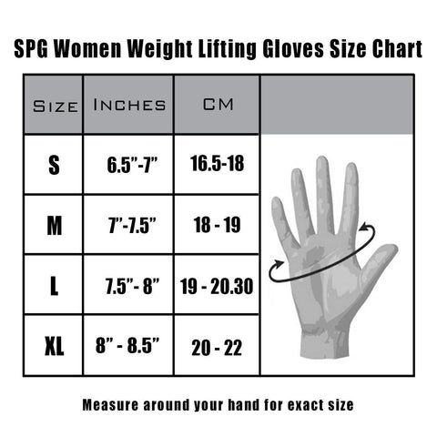 New Spg Women Weight Lifting Gloves For Cross Fit Gym Workout Sky