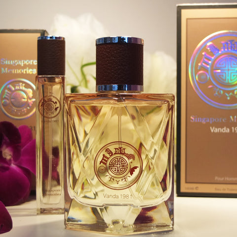 perfect gift orchid scent Vanda 1981 best perfume for her singapore Sg