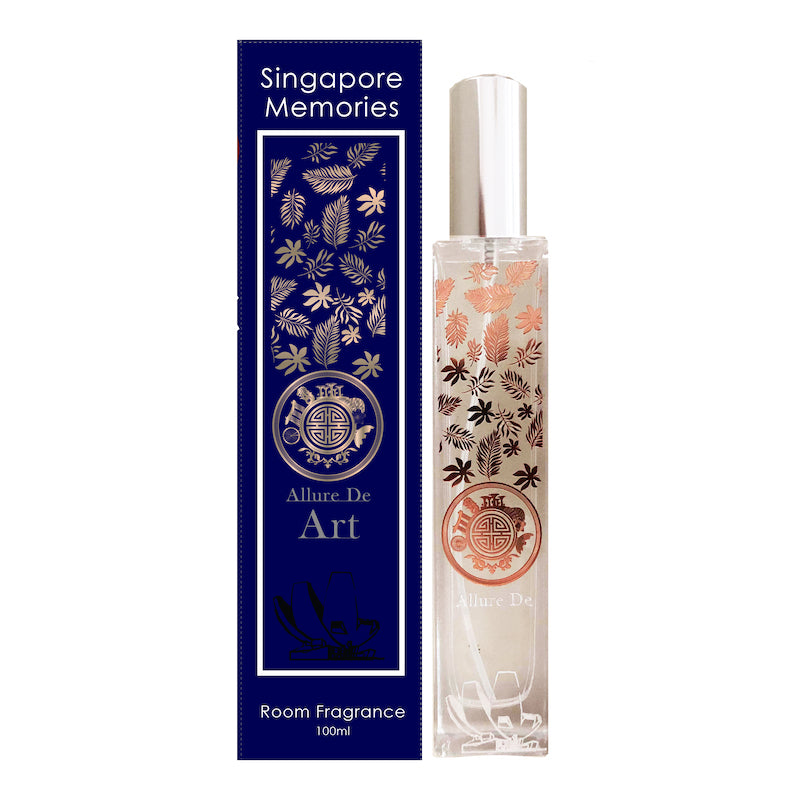 Allure de art art Scent Marina bay sands hotel and science museum house home Aroma room diffuser candle essential oils by Singapore memories a perfect singaporean gift