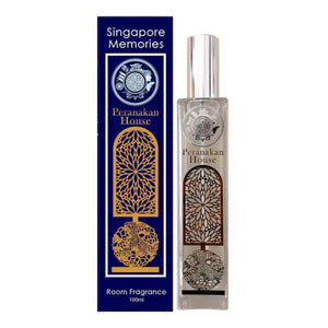 Peranakan luxury home Aroma room diffuser candle essential oils by Singapore memories a perfect singaporean gift