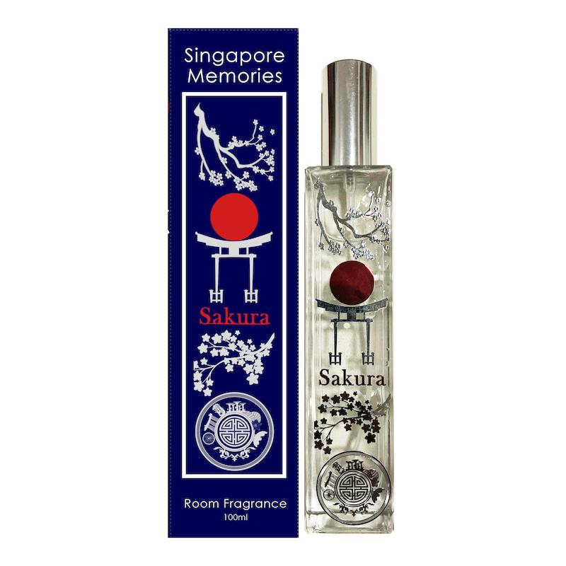 sakura perfume fragrance for home Aroma room diffuser candle essential oils by Singapore memories a perfect singaporean gift