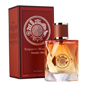 Perfume Store in Singapore : Singapore Memories created Orchid perfume, Aranda 1965. Its the best souvenir gift for overseas friends