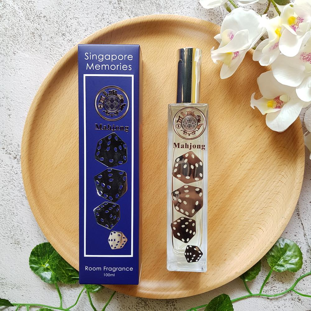 mahjong aroma serum a perfect gift to remember Singapore fragrance serum and diffuser essential oil