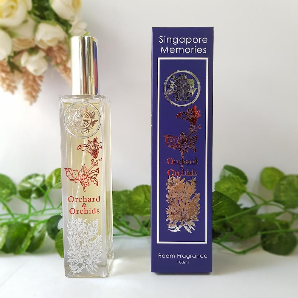 Orchard and orchids scent is singapore heritage room scent fragrance perfect gift souvenir