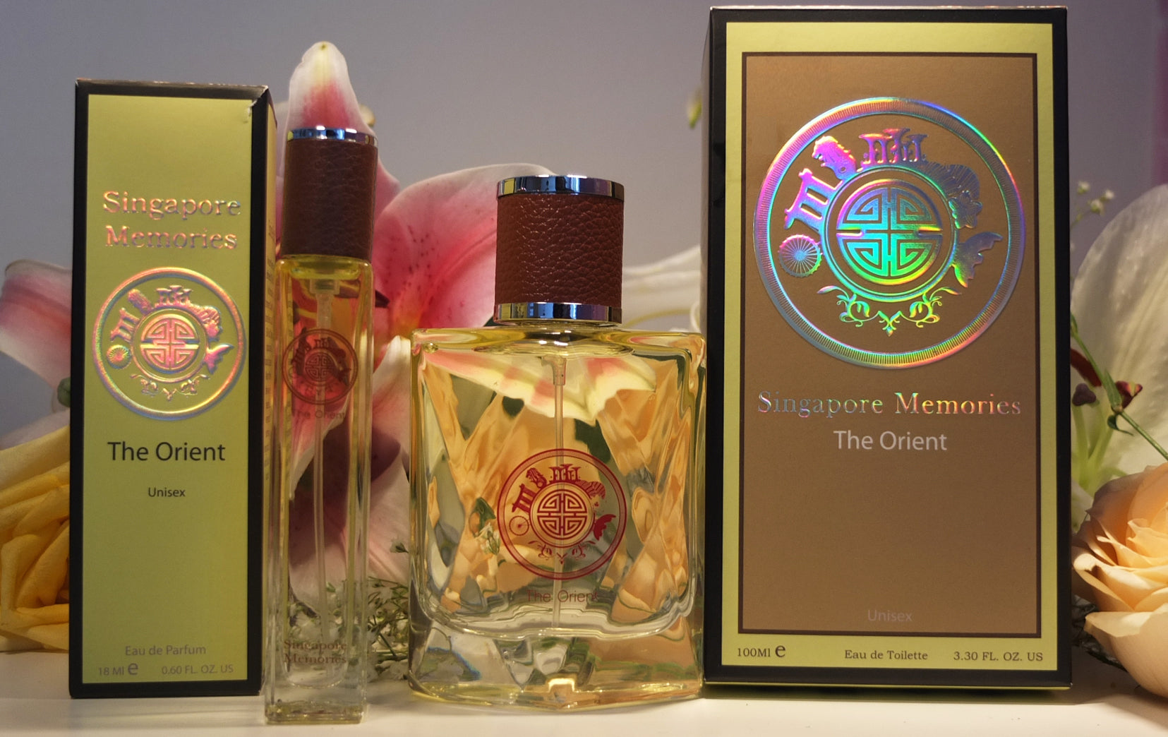 Singapore Perfume Store : Singapore Memories , The Orient, Gift for Overseas Friend