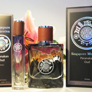Singapore Online Perfume Collections : Singapore Memories & Peranakan Oud : Scented gift for overseas friends and corporate gift