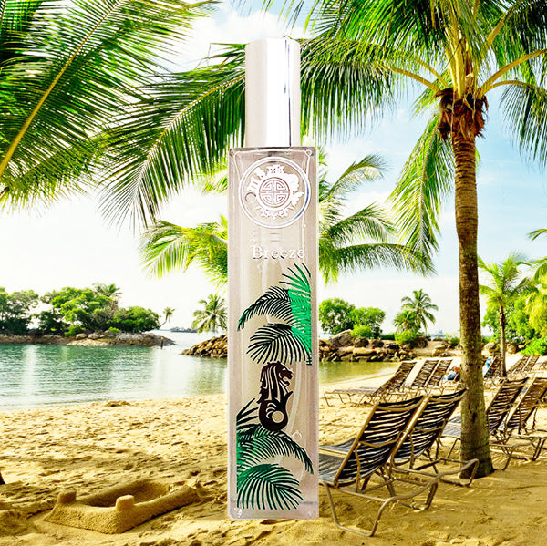 sentosa Breeze scent serum UV aroma is great gift from singapore as souvenir